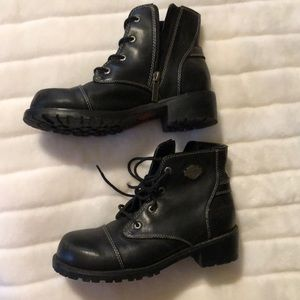 Women's Harley Davidson ankle boots